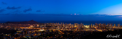 Honolulu City Lights | by EfrankE