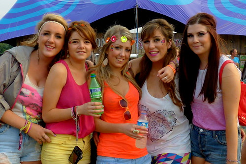 Five Irish girls @ festival Tomorrowland | by e³°°°