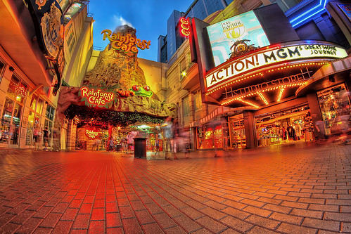 Rainforest Cafe & MGM Store-HDR | by Dude with a Canon