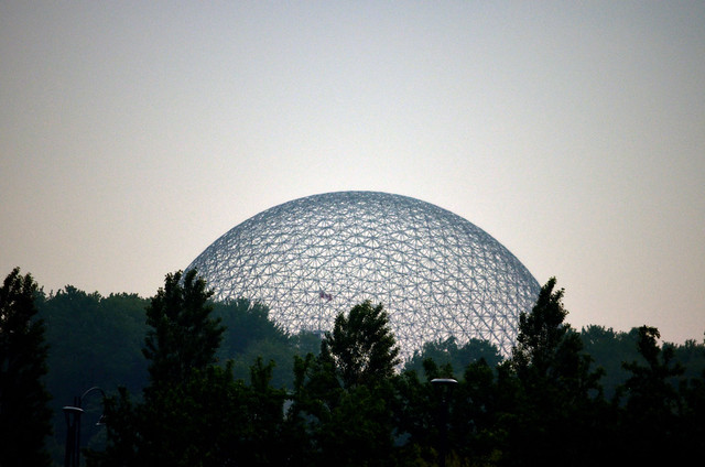 Biosphere from afar