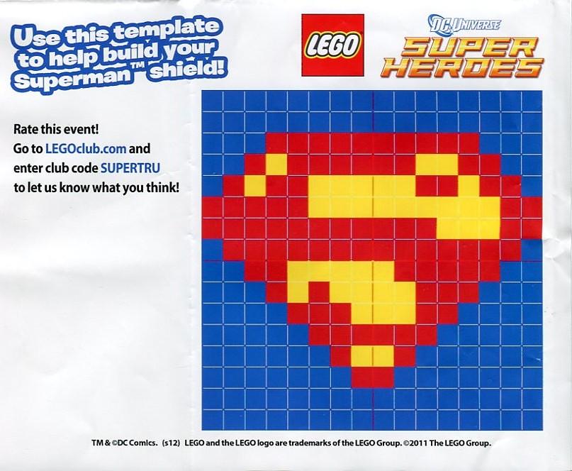 Lego Superman Shield