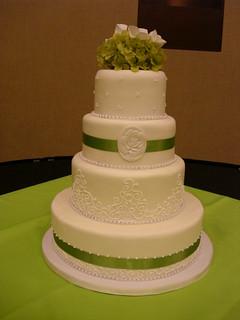 lime green wedding cake see more custom topeka kansas wed flickr. Black Bedroom Furniture Sets. Home Design Ideas