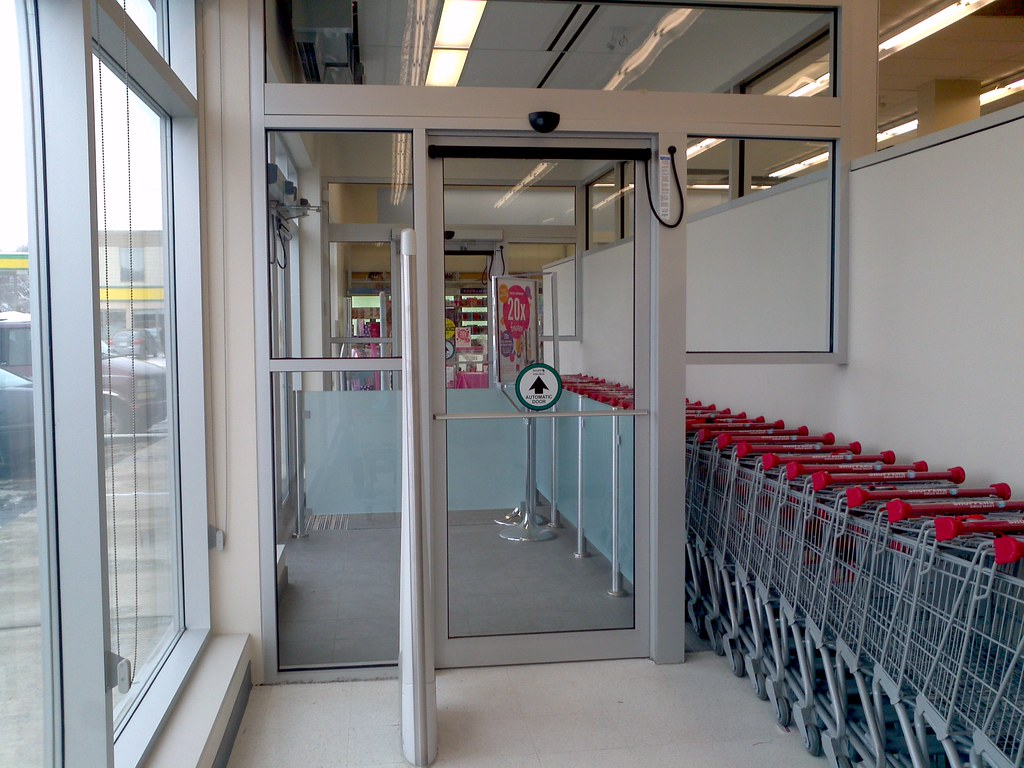 Beau ... New Automatic Door From Besam At Shoppers Drug Mart | By Huy Dang