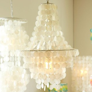 capiz shell chandelier pb teen | by The Estate of Things