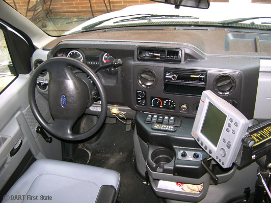 DART's 2012 Ford E450 paratransit bus - driver's area 3-9-… | Flickr