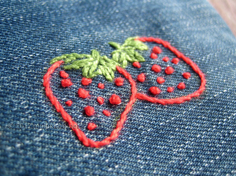Hand Embroidery Tutorial French Knot Stitch Strawberries Flickr
