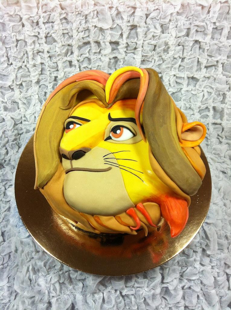 King Lion Cake By Red Carpet Cake Design Davide Francesca Flickr
