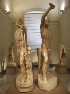 National Archaeological Museum Of Naples Tyrannicide Gro