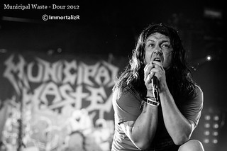 Tony Foresta  - Municipal Waste (US) | by Brian Ravaux - ImmortalizR