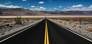 The Road to Panamint Springs | by Dave Toussaint (www.photographersnature.com)