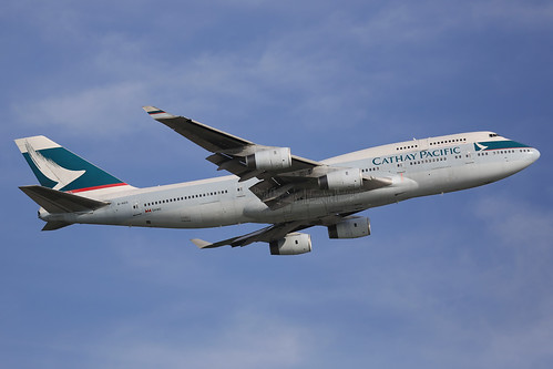 "B-HOS, Boeing, 747-467, ""Cathay Pacific"", Hong Kong 