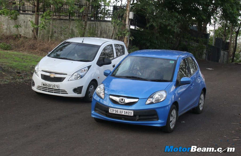 Chevrolet Beat Vs Honda Brio 34 Motorbeamcarsche Flickr