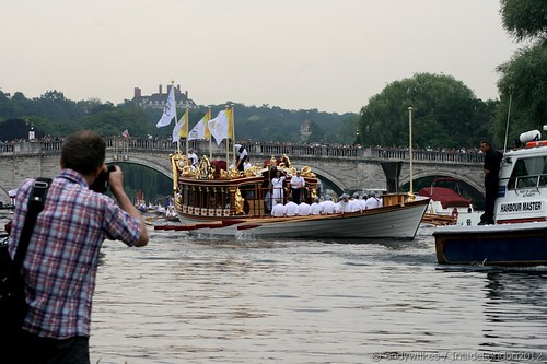 Day 70 London 2012 Torch Relay - Thames Flotilla | by Andy Wilkes