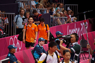 Sudket Prapakamol & Saralee Thoungthongkam - Thai Mixed Double Badminton 2012 Olympic Players | by adheds