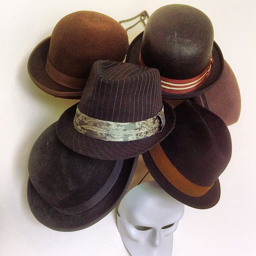 My hat tree brings all the girls to the haberdashery | by colinaut