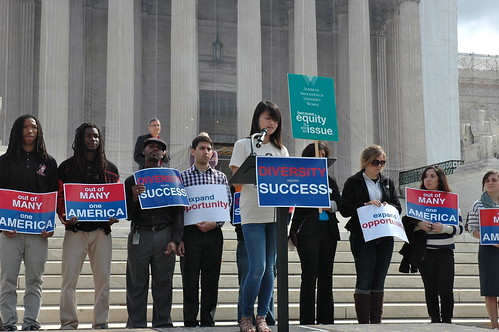 Rally for Affirmative Action at U.S. Supreme Court October 10, 2012 | by NEA-HQ