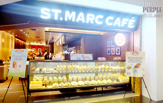 St Marc Cafe Robinsons Place Manila