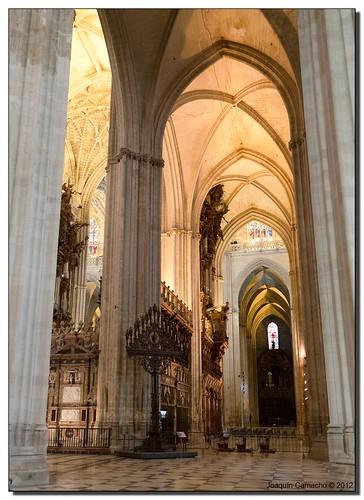 Catedral de sevilla interior hagamos una catedral tan g flickr - Catedral de sevilla interior ...