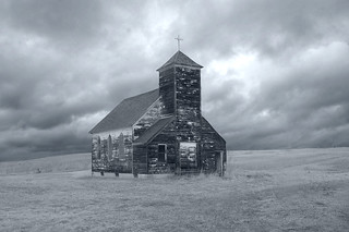 Church in a Ghost Town-Arena-Abandoned North Dakota | by j_piepkorn65