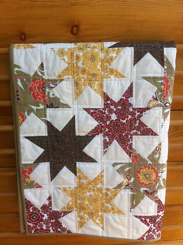 Sparkle Punch Baby Quilt | by CoraQuilts~Carla