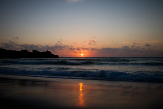 Sunset - Porthmeor beach | by jontlaw