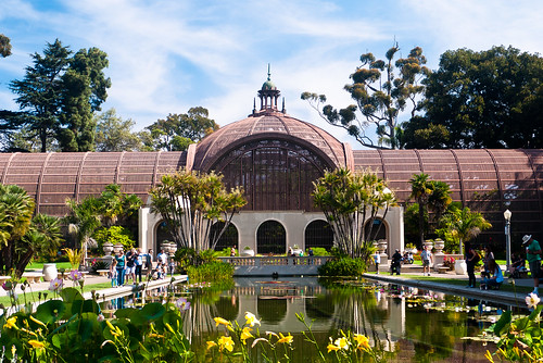 Botanical Building And Lily Pond Balboa Park San Diego