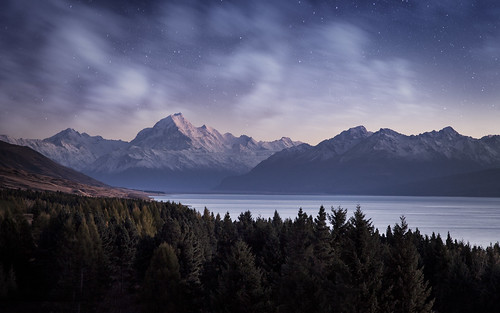 Mount Cook moonlight | by nathankaso