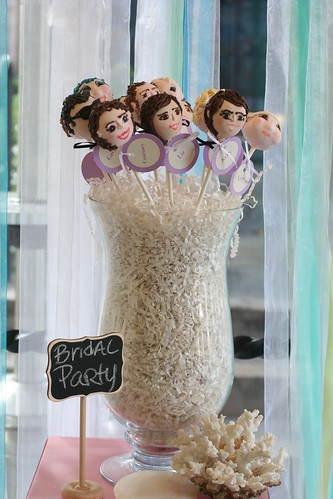 Bridal Party Cake Pops | by Sweet Lauren Cakes