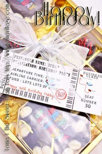 Birthday Chocolate Gift Pack | by Lonia | The Sweet Tooth Fairy