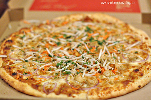 Thai Pizza at ZPizza ~ Roseville, MN