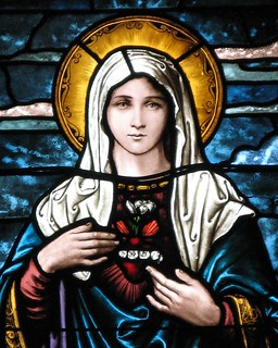 The Immaculate Heart of Mary | by Loci Lenar