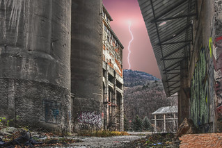Decayed Factory | by A.B. Art