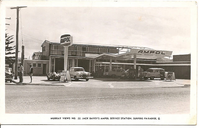 Jack Davey S Ampol Service Station Surfers Paradise Qld Flickr