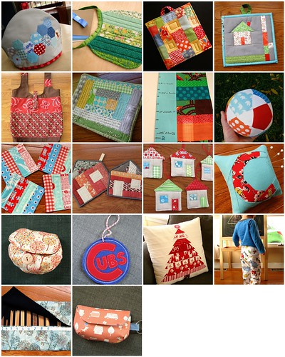 small finished projects of 2011 | by quirky granola girl