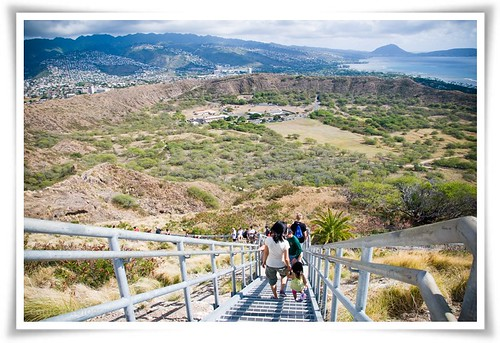 going down Diamond head | by mushroom garden