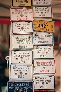 Bicycle License plates | by xddorox