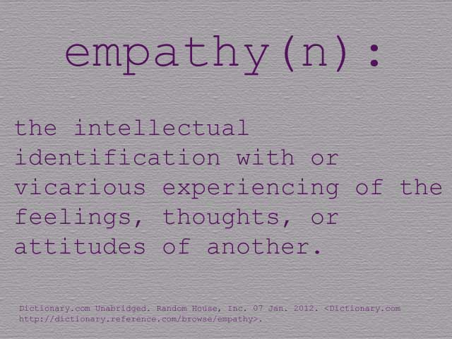 ... Empathy Definition | By That Girl Crystal