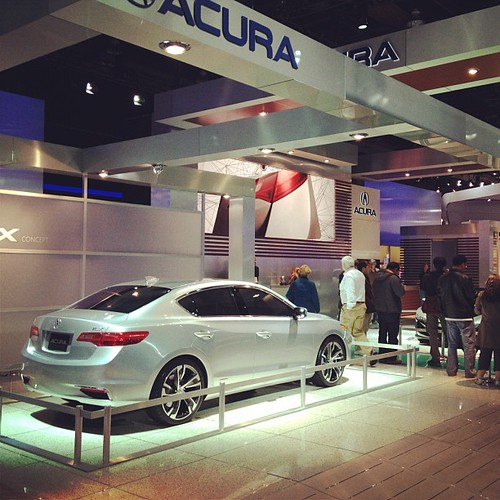 Acura Debuted The ILX At The North