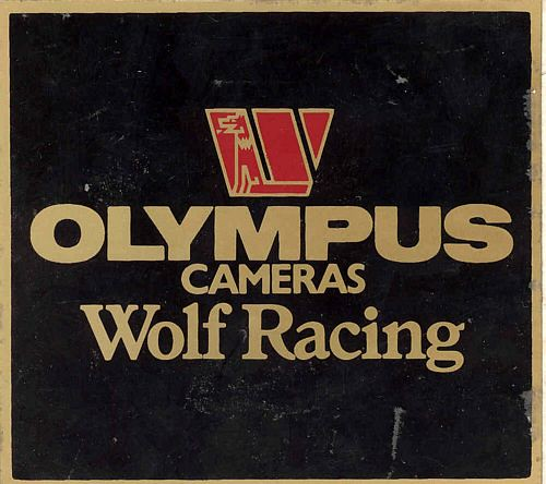Stickers And Patches Olympus Cameras Wolf Racing Logo