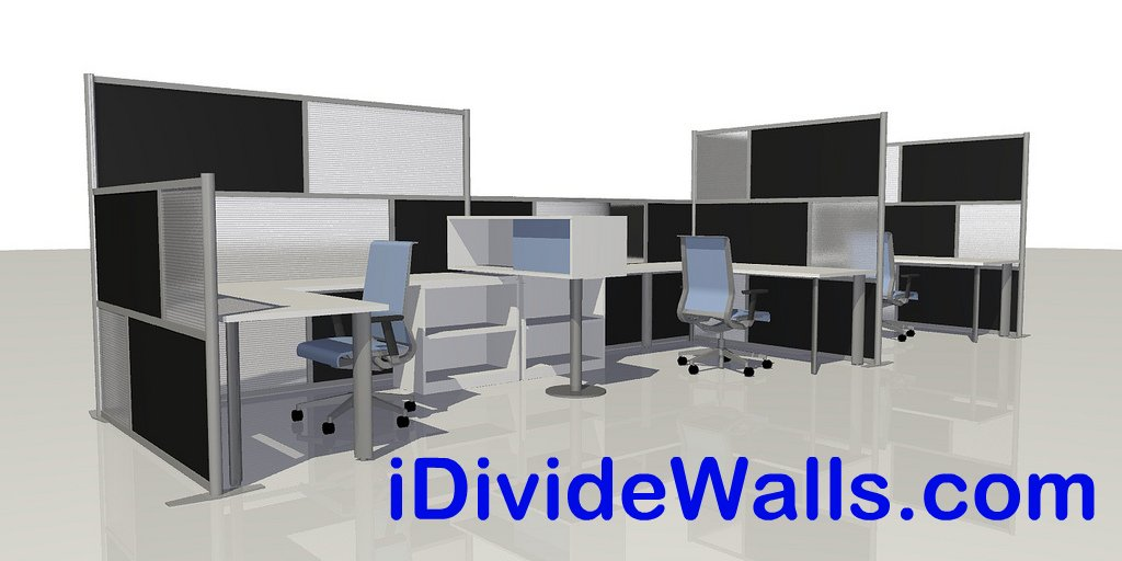 ... IDivideWalls.com   Room Divider Office Partition Walls By IDivide | By  IDivide