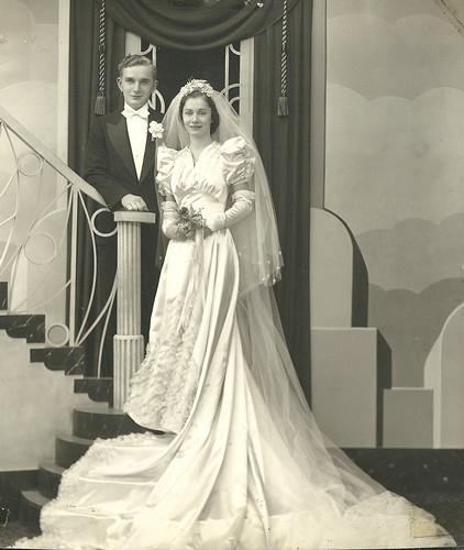 Identify Bridegroom: Detroit Wedding, C.1930s. Can Anyone Identify The