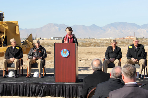 Photovoltaic Plant Groundbreaking Ceremony, Jan. 18, 2012 | by NAWS China Lake