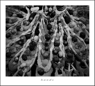 "hands…""Castellers"" 