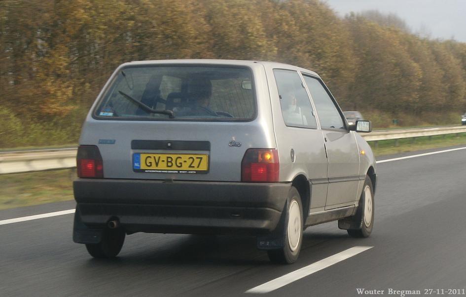 Fiat Uno Selecta 1993 Wouter Bregman Flickr