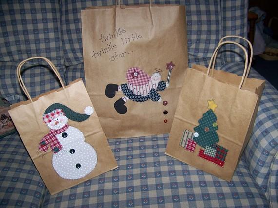 Applique gift bag patterns www.craftsy.com user 1439570 pau2026 flickr