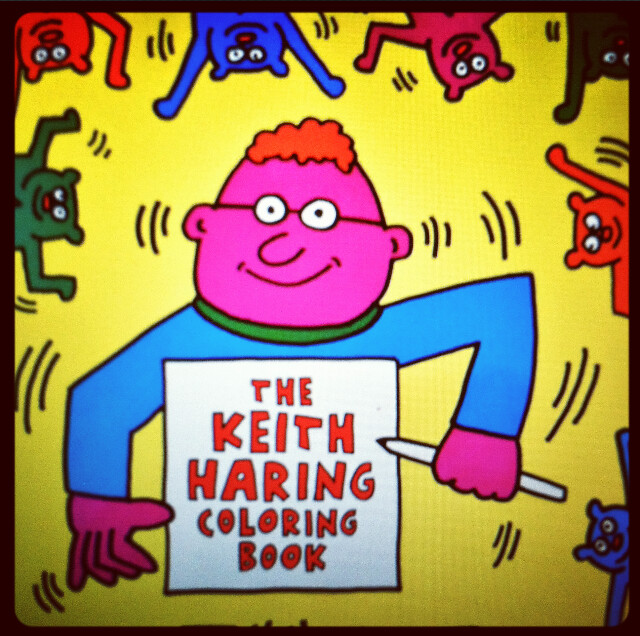 the keith haring coloring book! | my favorite | radiantchild ...