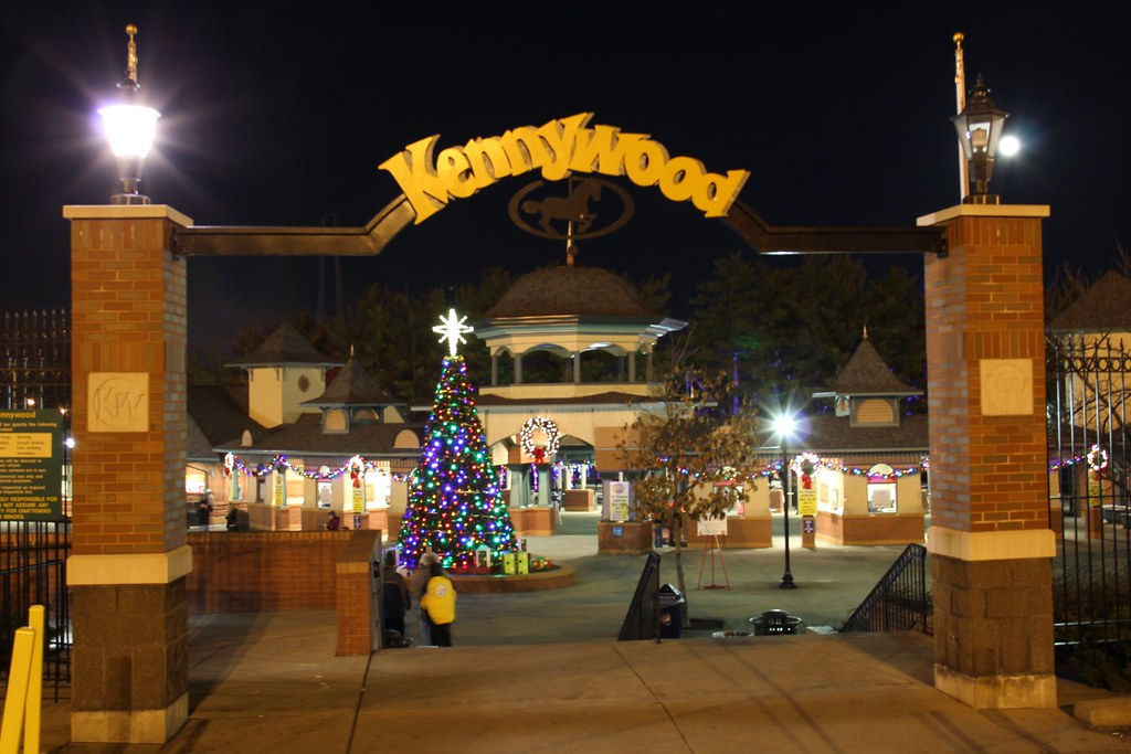 Kennywood Gate | Kennywood Holiday Lights 2011 @ Pittsburgh,… | Flickr