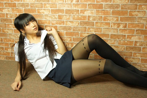 Chinese Teens In Stockings - Teen-3956