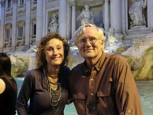 2011 6-10 Rome ann tom Trevi fountain | by Mojave-wtv
