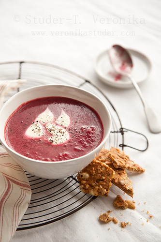 Beetroot soup | by StuderV